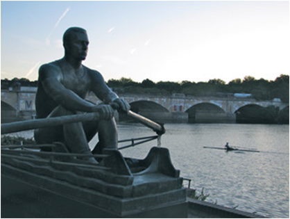 rower statue